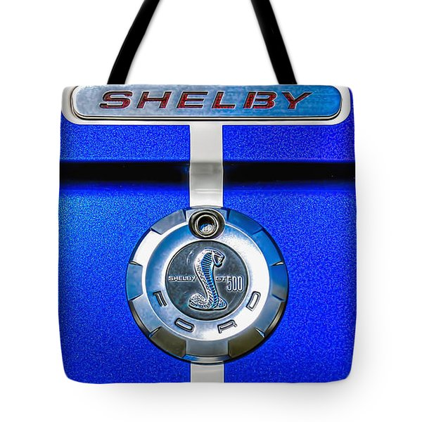 Tote Bag featuring the photograph 2006 Shelby Mustang Gt by Trey Foerster