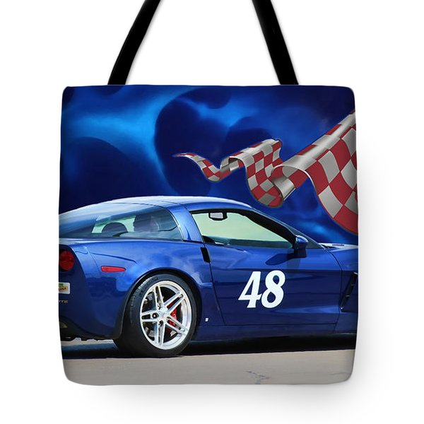 2007 Z06 Corvette Tote Bag