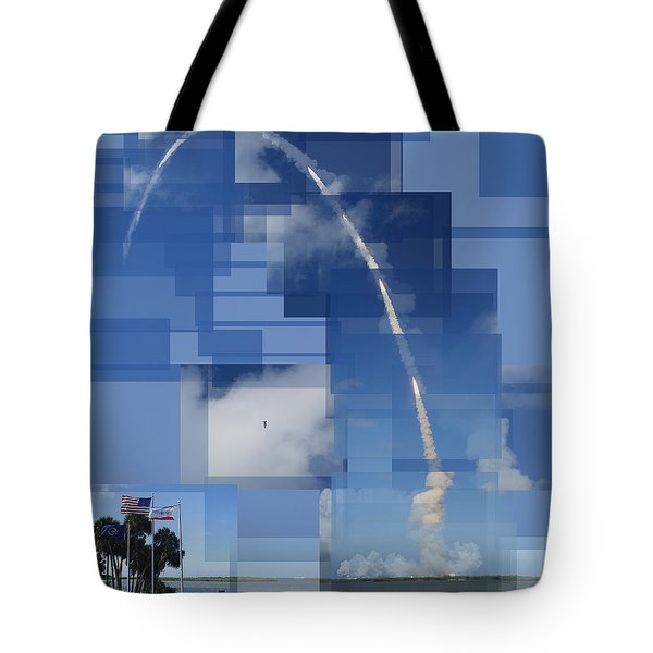 2008 Space Shuttle Launch Tote Bag