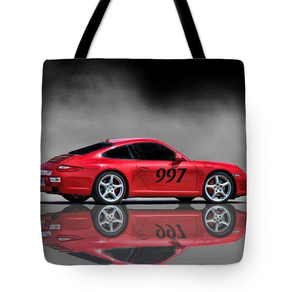 2009 Porsche Carrera Tote Bag