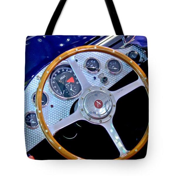 2010 Allard J2x Mk II Commemorative Edition Steering Wheel Tote Bag by Jill Reger