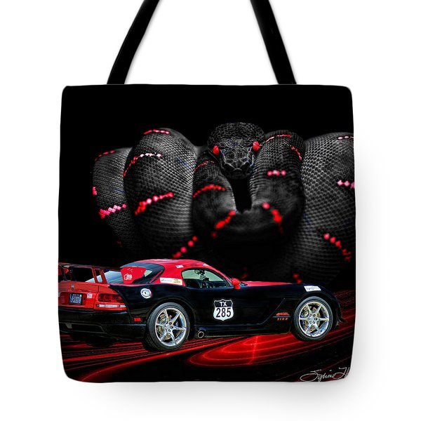 2010 Dodge Viper Tote Bag