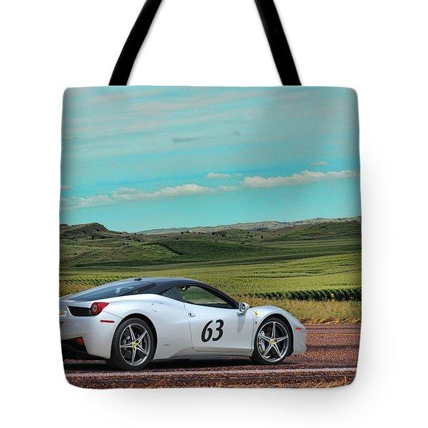 2010 Ferrari Tote Bag