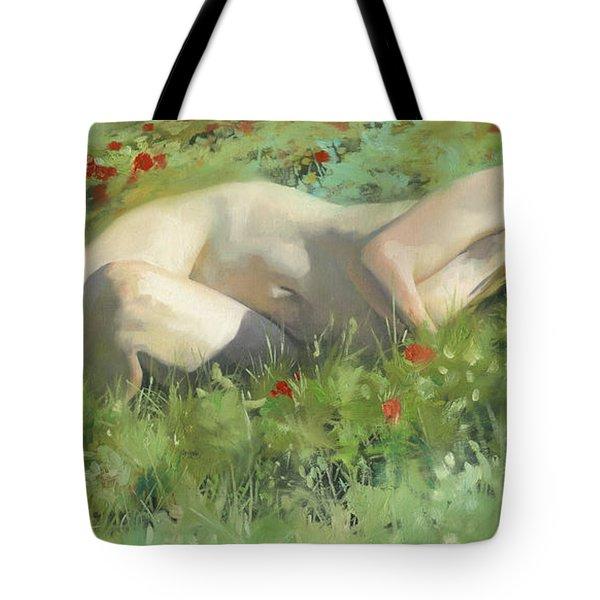 2012 Warm May  Tote Bag