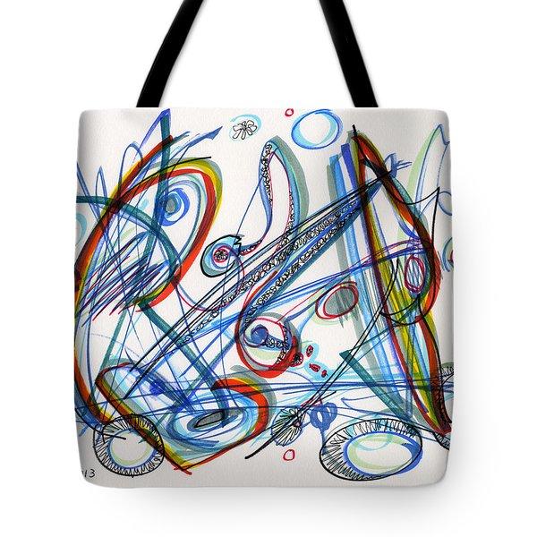2013 Abstract Drawing #12 Tote Bag