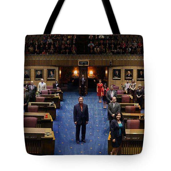 2013 Arizona Senate Portrait Tote Bag