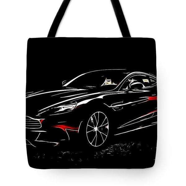 2013 Aston Martin Vanquish Tote Bag