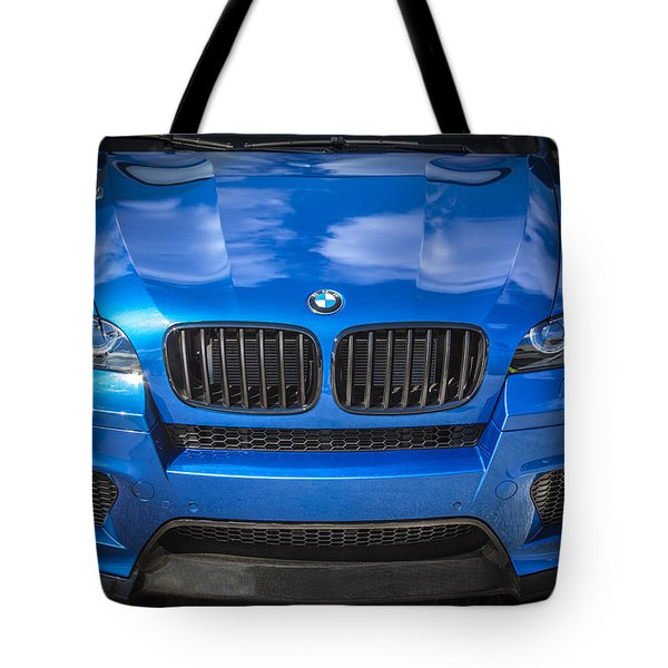 2013 Bmw X6 M Series Tote Bag