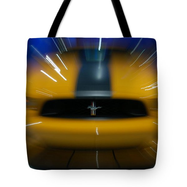 2013 Ford Mustang Tote Bag by Randy J Heath