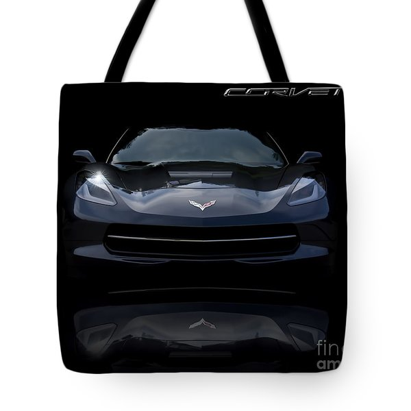 2014 Corvette Stingray Tote Bag