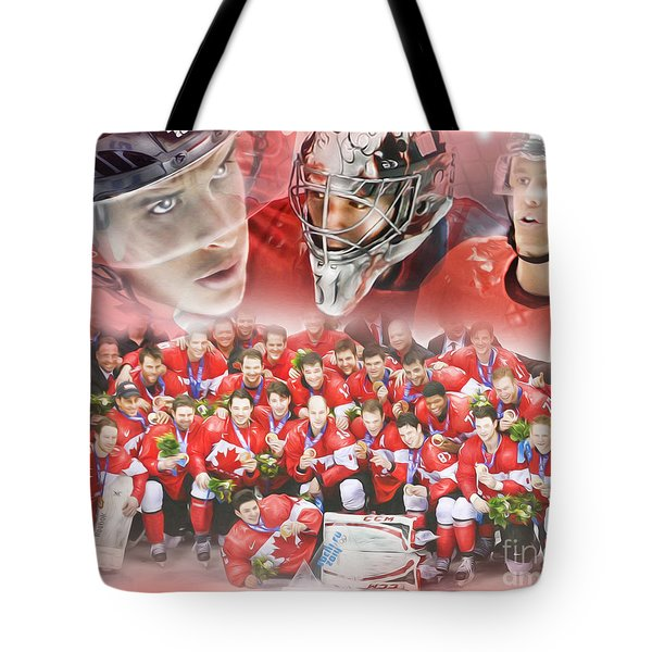 2014 Team Canada Tote Bag
