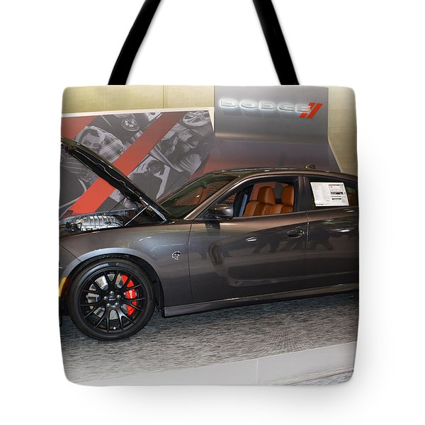 2015 Dodge Charger Srt Hellcat Tote Bag