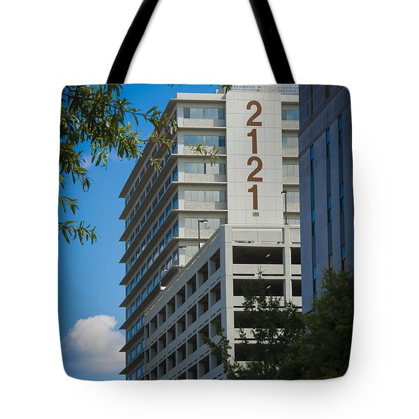 2121 Building Tote Bag
