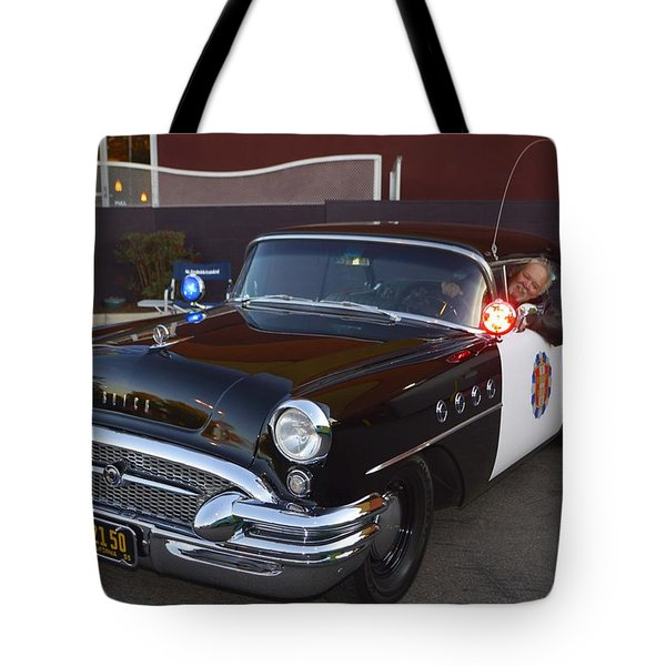2150 To Headquarters Tote Bag by Tommy Anderson