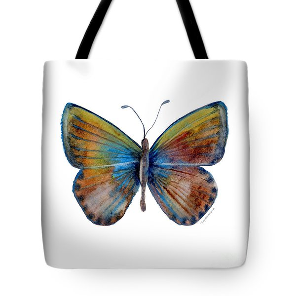 22 Clue Butterfly Tote Bag