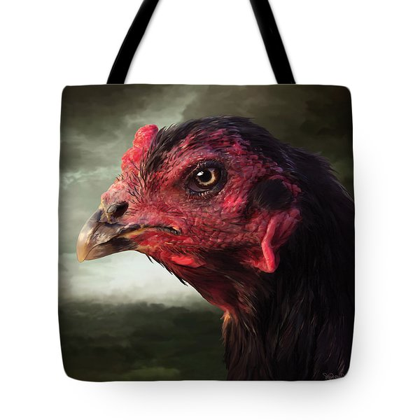 22. Game Hen Tote Bag