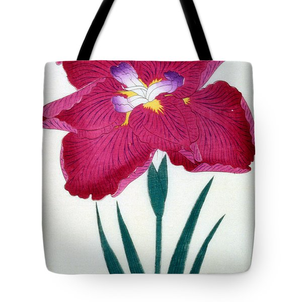 Japanese Flower Tote Bag by Japanese School