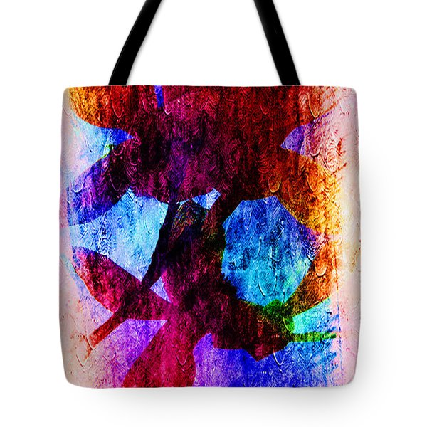 Magnolia In Abstract Tote Bag