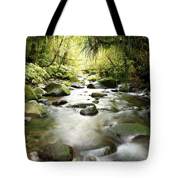New Zealand  Tote Bag by Les Cunliffe