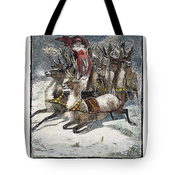 Night Before Christmas Tote Bag by Granger