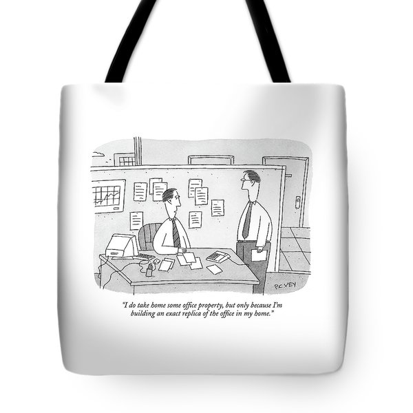 I Do Take Home Some Office Property Tote Bag