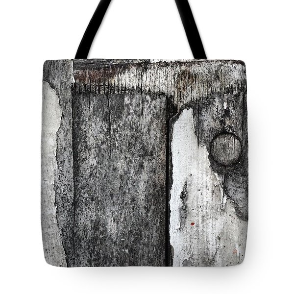 Wood On The Wall Tote Bag