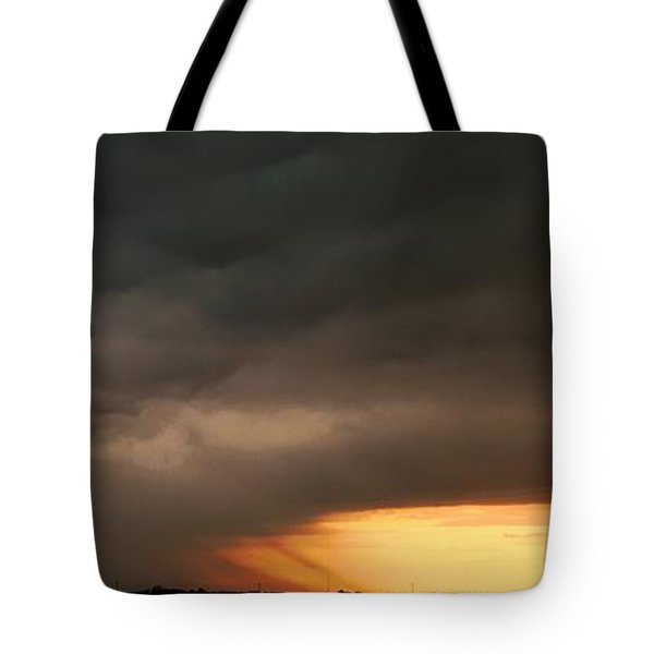 Let The Storm Season Begin Tote Bag