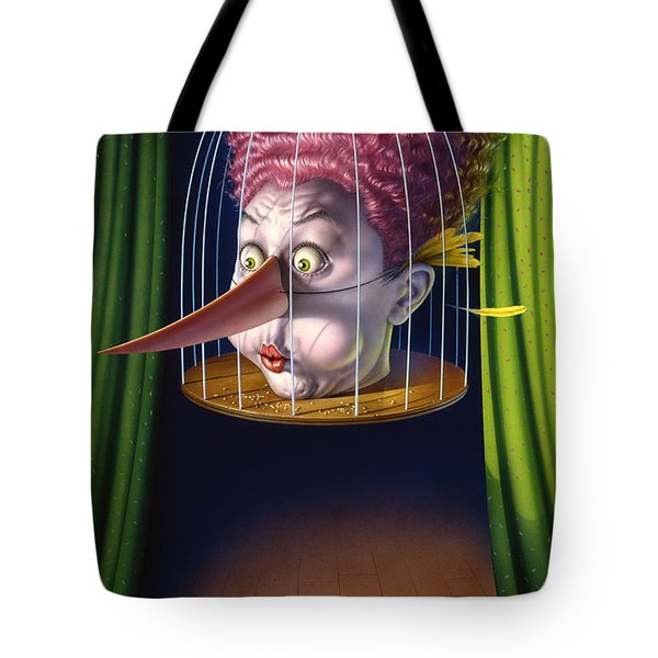 24th Annual Waxdeck's Bird Calling Contest Tote Bag