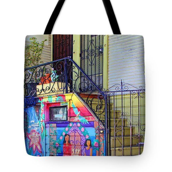 25 Balmy Alley San Francisco Tote Bag