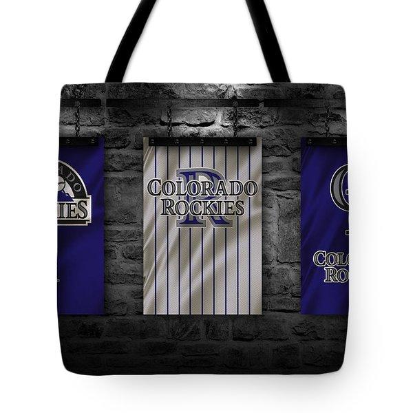 Colorado Rockies Tote Bag