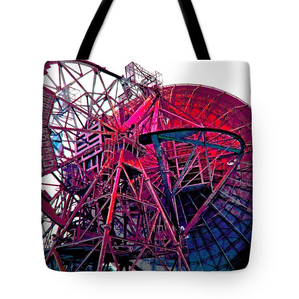 26 East Antenna Abstract 4 Tote Bag