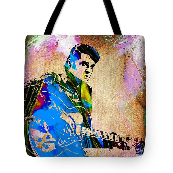 Elvis Presley Collection Tote Bag