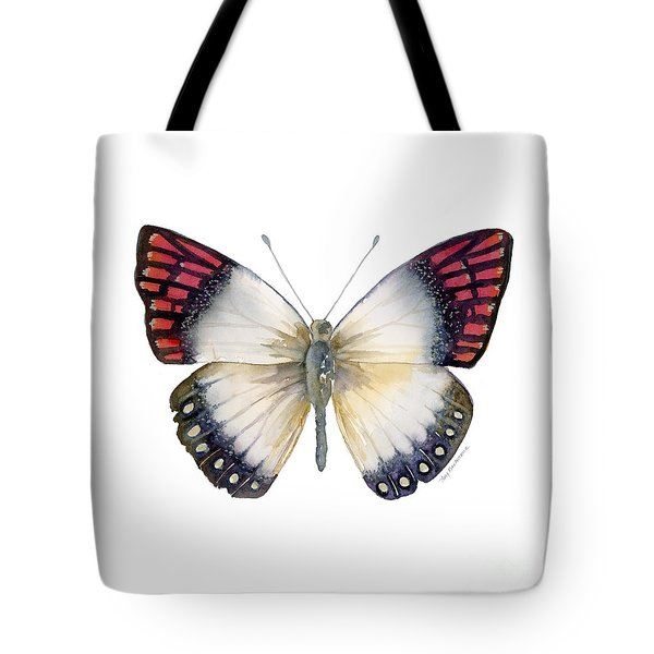 27 Magenta Tip Butterfly Tote Bag