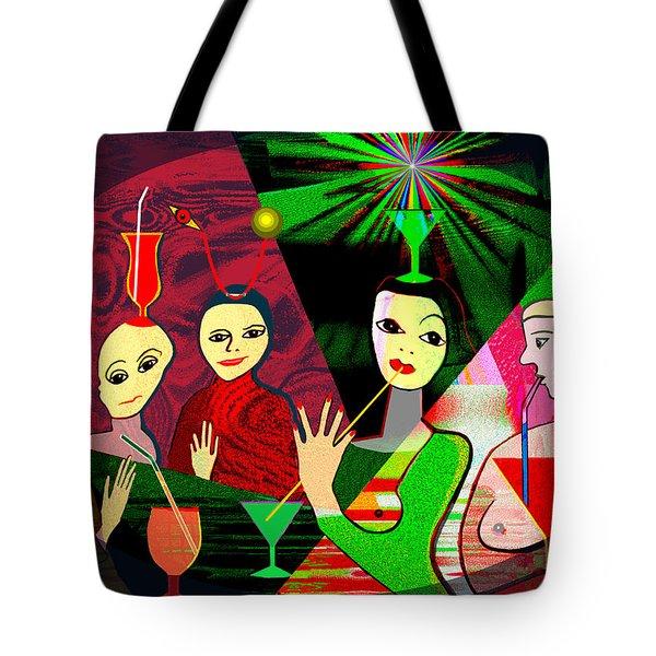 280 -  Wild Celebration   Tote Bag