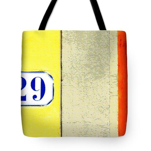 29 Comic Book Door Tote Bag by Valerie Reeves