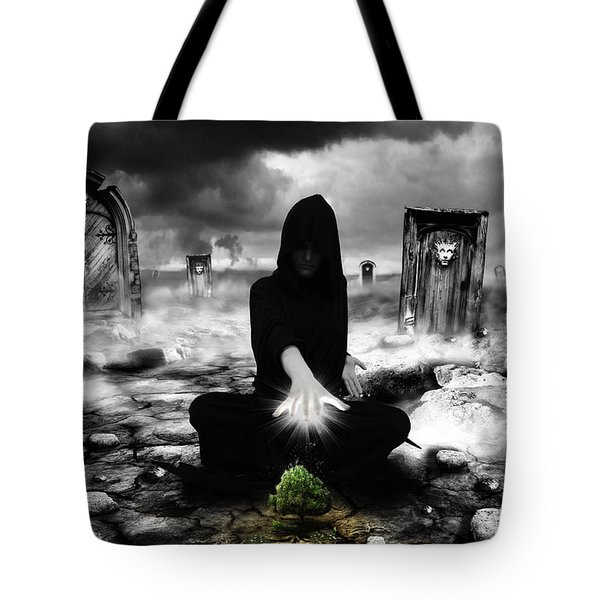 Tote Bag featuring the photograph No Title  by Mariusz Zawadzki