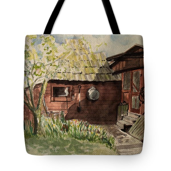 A Shanty Called Home Tote Bag