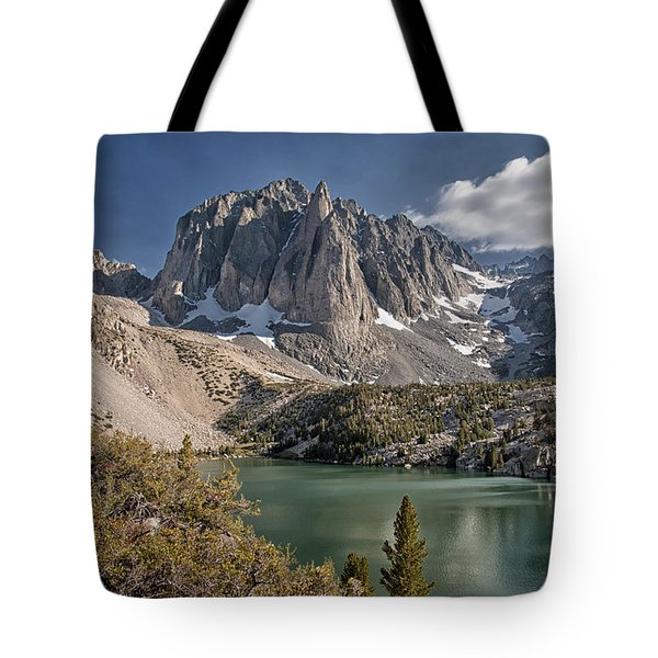2nd Lake And Temple Crag Tote Bag by Cat Connor