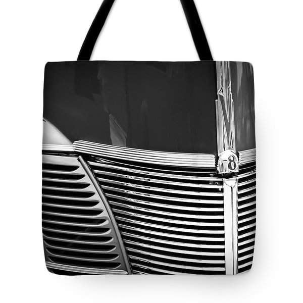 1940 Ford Deluxe Coupe Grille Tote Bag
