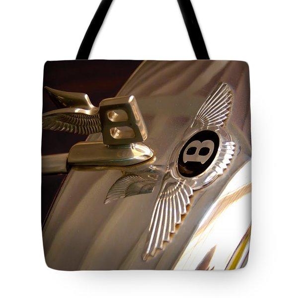 1956 Bentley S1 Tote Bag