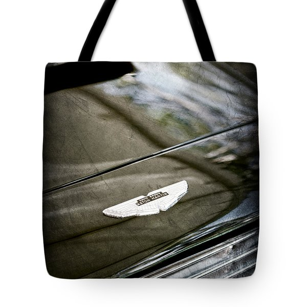 1967 Aston Martin Db6 Coupe Hood Emblem Tote Bag