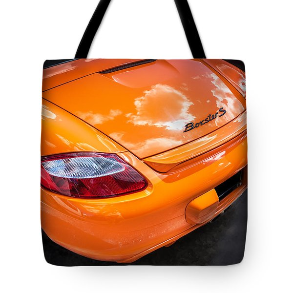2008 Porsche Limited Edition Orange Boxster  Tote Bag