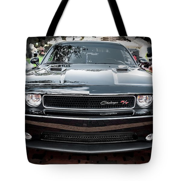 2013 Dodge Challenger  Tote Bag by Rich Franco