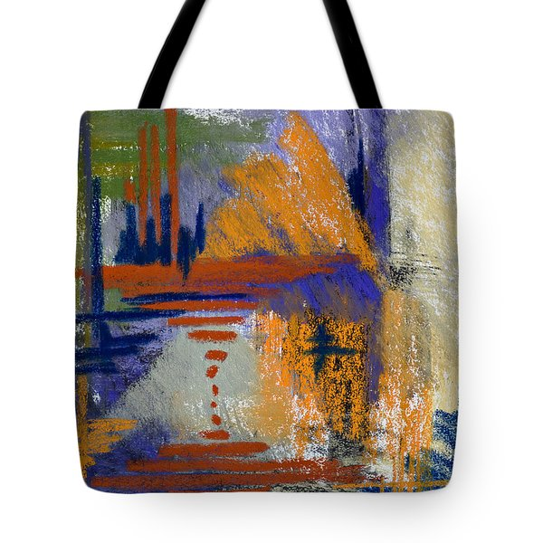 Through The Looking Glass Tote Bag by Tracy L Teeter