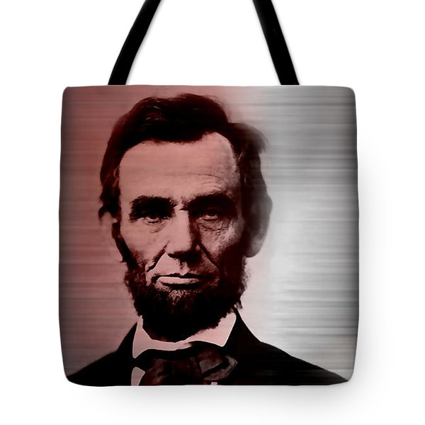 Abraham Lincoln Tote Bag by Marvin Blaine