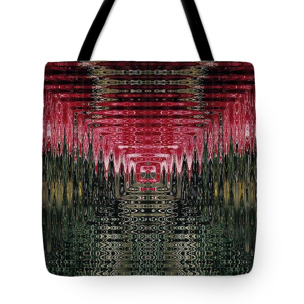 Abstract 117 Tote Bag by J D Owen