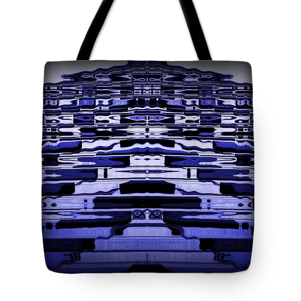 Abstract 121 Tote Bag by J D Owen