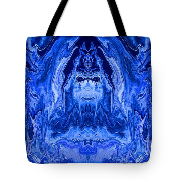 Abstract 40 Tote Bag by J D Owen