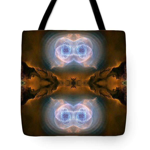 Abstract 54 Tote Bag by J D Owen