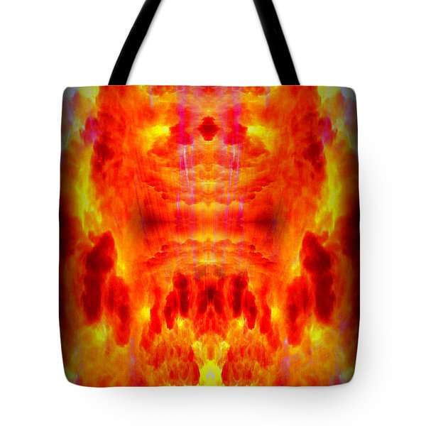 Abstract 70 Tote Bag by J D Owen